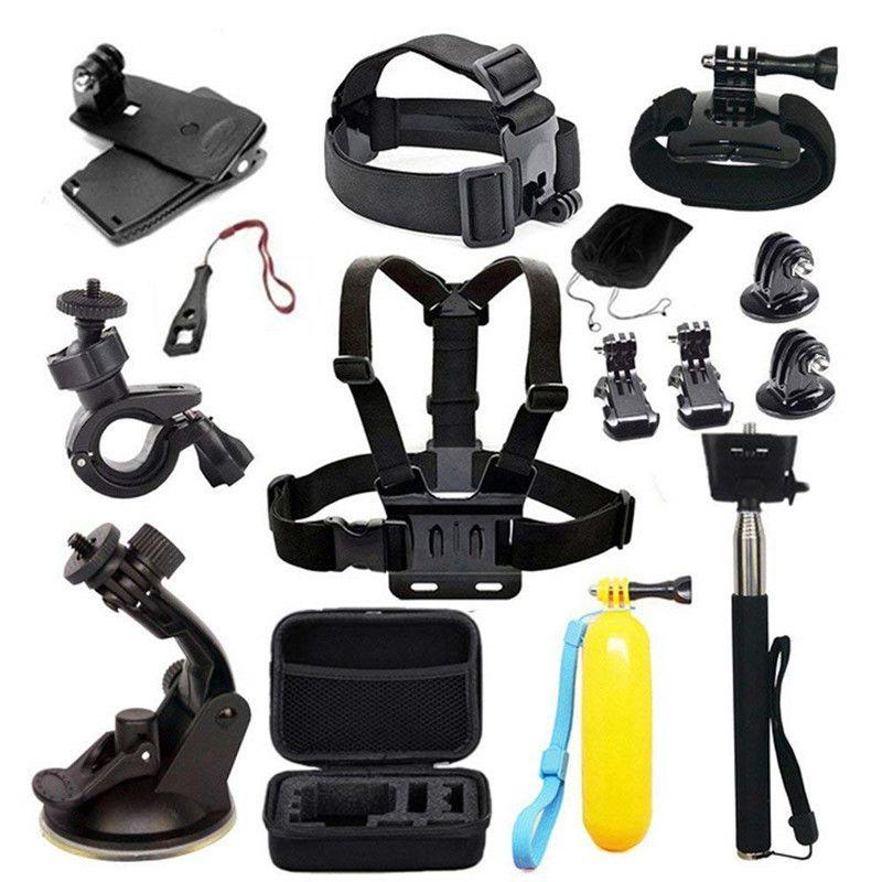 ملحقات كاميرا الحركة لـ Gopro ، Hero 7 ، AKASO ، EK7000 ، الشجاع ، Victure ، Crosstour ، Apeman ، VicTsing ، Action ، kit ، ملحقات الكاميرا
