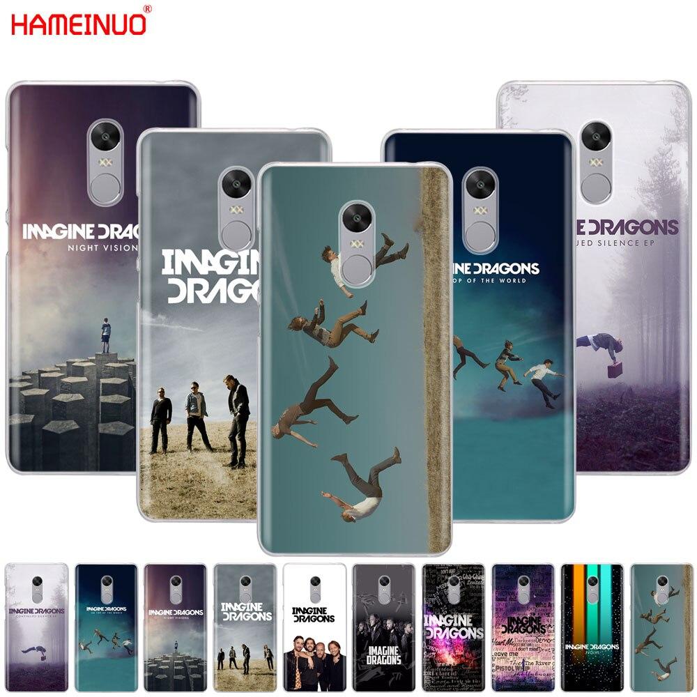 HAMEINUO imaginar dragones noche música cubierta funda de teléfono para Xiaomi redmi 5 4 1 1s 2 3 3s pro PLUS redmi note 4 4X 4A 5A