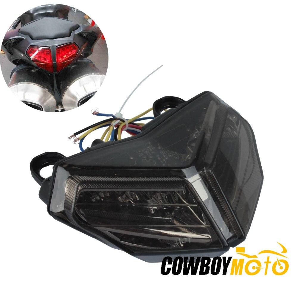 Moto intégré frein à LED feu arrière avec clignotant pour Ducati 848 EVO Corse SE 2008-2012, 1098 1098R 1098S 2007-2009 2008