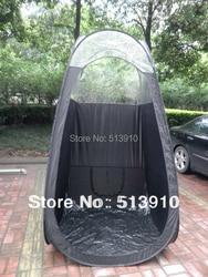 Черная/Розовая палатка для загара с ПВХ крышей, высокое качество, палатка для загара, Прямая поставка с фабрики, OEM заказ