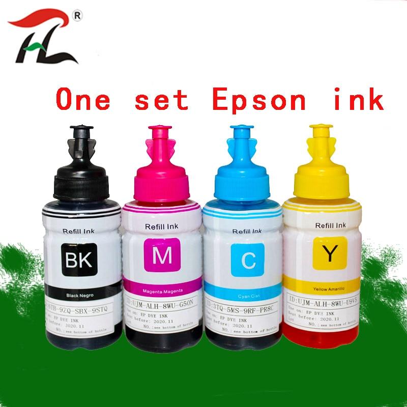 Dye Ink For Epson L120 L132 L222 L310 L364 L380 L382 L486 L566 L800 L805 L1300 ET-2650 Printer T664 Refill Dye Ink For Epson
