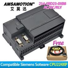 !!!! Promotion Amsamotion-PLC cpu24xp   14I/10O 2AI 1AO AC/DC/RLY 6ES7 214-2BD23-0XB8 avec câble PPI gratuit