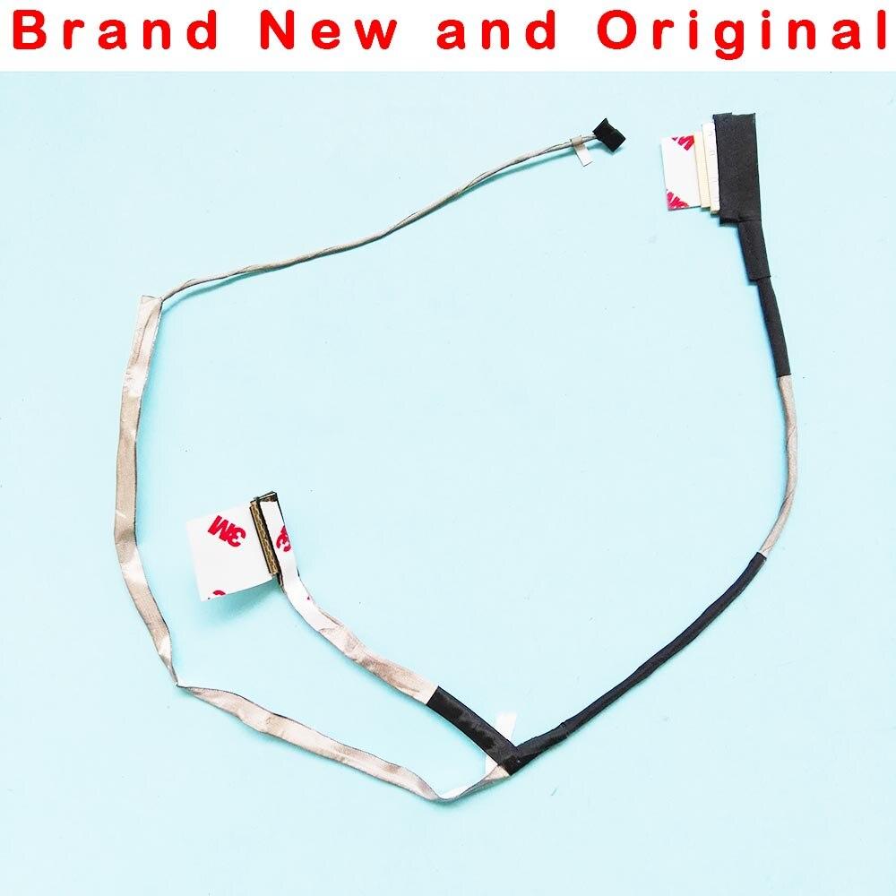 Original NOVO LCD Vídeo Flex Cable Para HP 15-G 15-R 15-H ZS051 15-G000 15-G070 Display Screen Laptop Cabo DC020022U00
