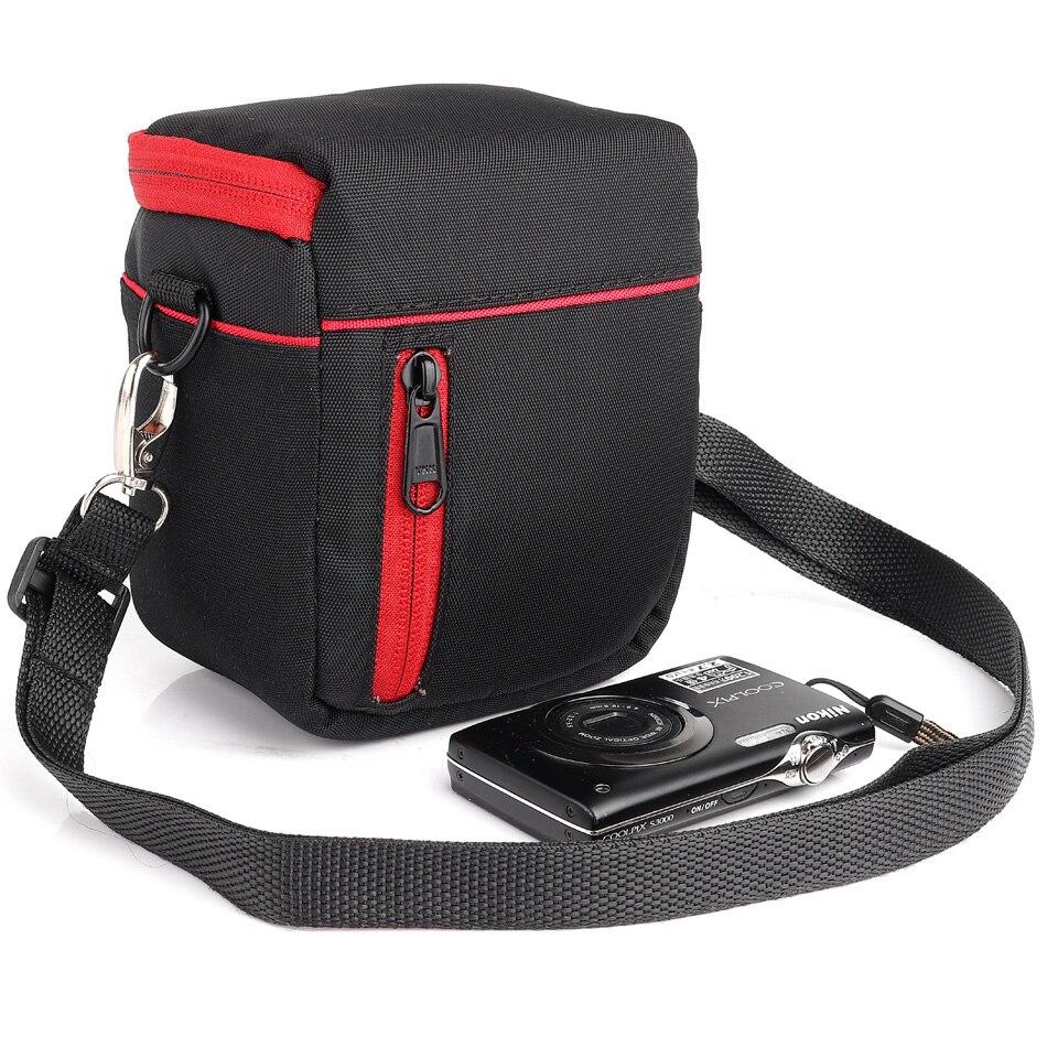 Mini Digital Camera Bag Para Sony A6000 RX100 NEX-5 NEX-5TL NEX-5R NEX-F3 NEX-3N NEX-6 NEX-C3 HX90 HX50 HX60 HX80 Foto saco