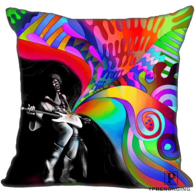 Besten Custom Jimi-Hendrix (1) Kissen Fall Schlafzimmer Hause Platz zipper Kissenbezüge (Eine Seite) #190404-01-158