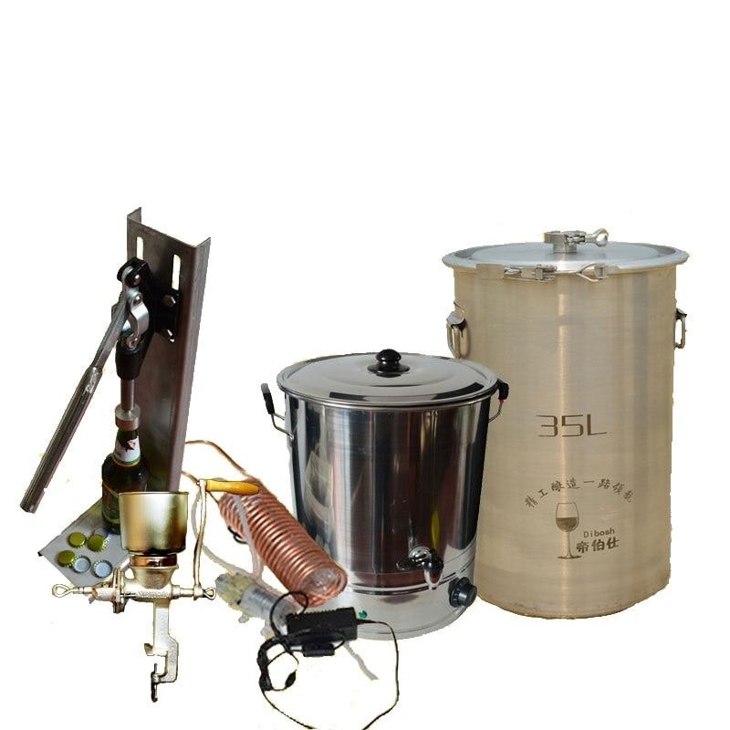 سدادة سيليكون للبيرة المصنوعة يدويًا ، برميل البيرة الأمريكي ، مجموعة بدء تشغيل البيرة ، مصنع الجعة الصغير