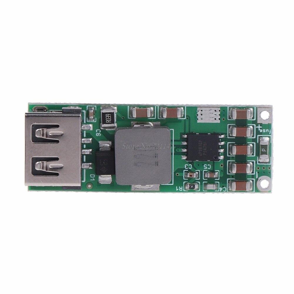 Módulo de carga rápida USB QC3.0 2,0 DIY cargador de teléfono del coche 8-24V Dropship