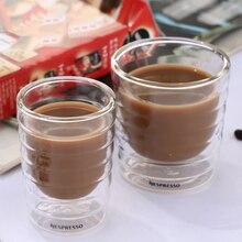 Tasse à café à Double paroi Nespresso, 85/150/350ml, 1 pièce, tasse après thé