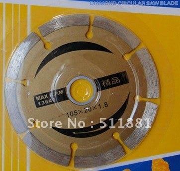 4'' NCCTEC diamond dry saw cutting blade   100mm Concrete blade   circular saw blade