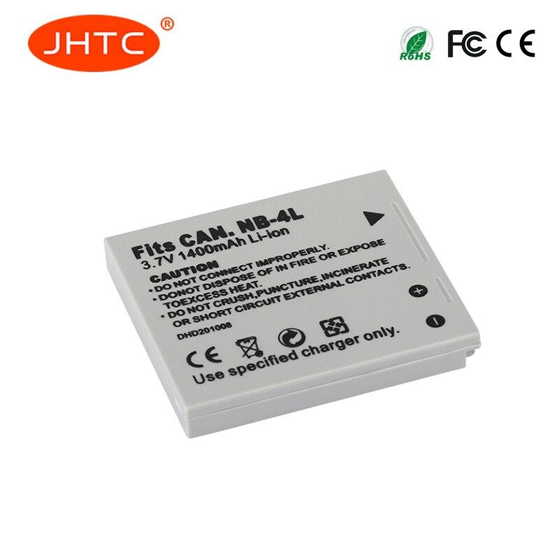 1400mAh NB-4L NB4L NB 4L baterías para Canon IXUS 30 40 50 55 60 65 80 100 I20 110, 115, 120, 130 es 117, 220, 225, 230, 255 H