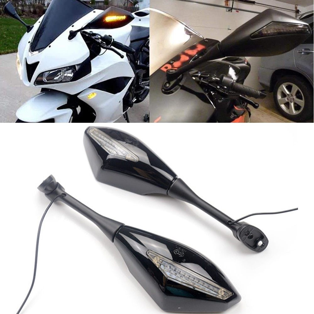 1 paar Motorrad Blinker Rückansicht Seiten Spiegel Für Honda CBR 600 RR 2003-2014 CBR1000RR 2004 2005 2006 2007 CBR 250R 500R