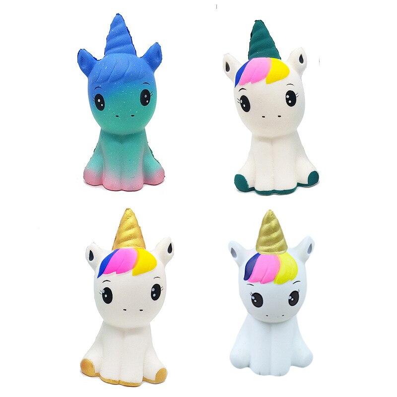 Squishy Toys Children Slowly Rising Anti stress Toys Starry Unicorn Rebound Squishies Decompression Toys Funny