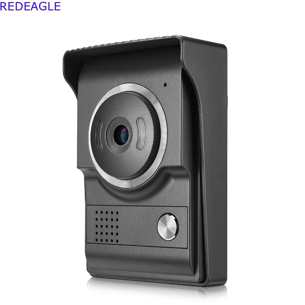 Single 700TVL Color Door Camera Outdoor Entrance Machine Unit for Home video door phone intercom Access Control System