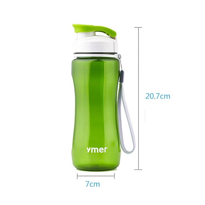 Botella de agua deportiva de 560ML/590ML, PC de seguridad económica a prueba de fugas, para ciclismo, senderismo, Camping, viaje, bolsa de agua, nuevo estilo