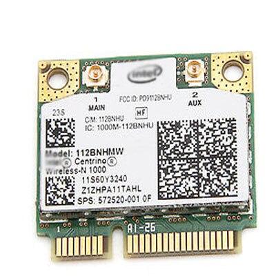 Tarjeta adaptadora inalámbrica para Intel Centrino medio Mini PCIe inalámbrica-N Wifi 1000 link 112 BNHMW para Lenovo IBM 60Y3202 thinkpad