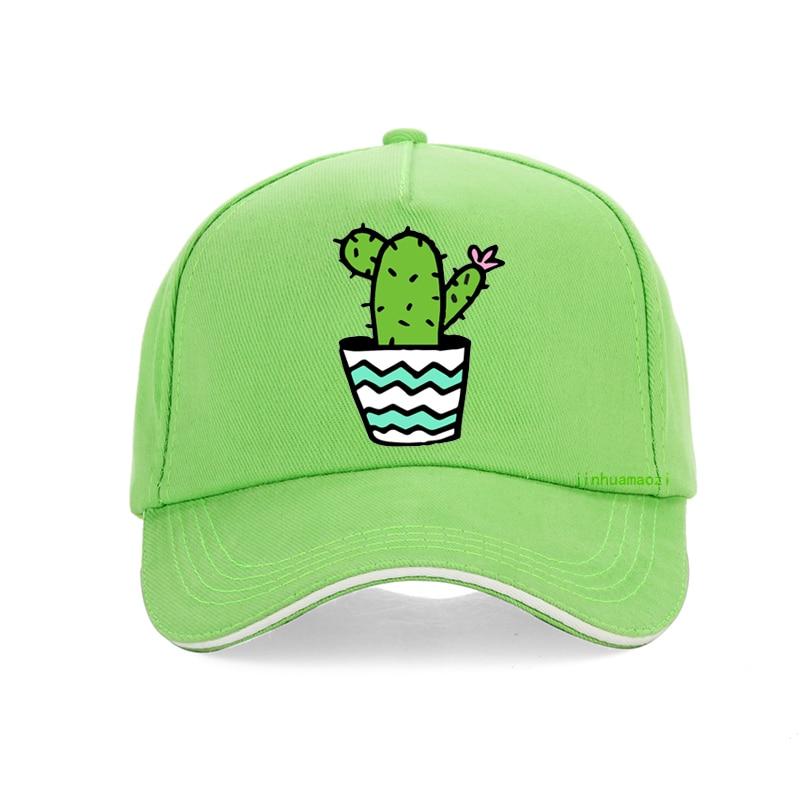 Cactus Green Baseball Cap Side Letter Wild Cap Spring Summer Men And Women Hat Outdoor Visor 2019 New Fashion Hat gorras bone