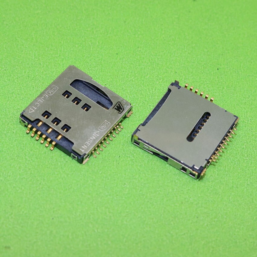 ChengHaoRan para samsung S5230 S5233C S3930 B3210 W589 F488E M628 nuevo soporte de lector de tarjeta SIM conector ranura para tarjeta SIM, KA-289