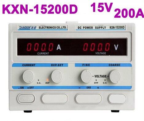 Fuente de alimentación CC conmutada de alta potencia serie KXN-15200D KXN salida única 0-15V 0-200a