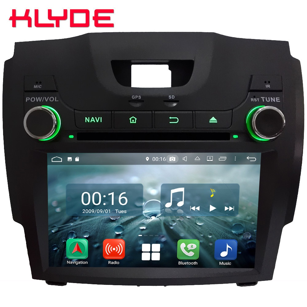 Octa Core 4G Android 8,1 4GB de RAM 64GB ROM coche DVD reproductor Multimedia para Chevrolet S10 Colorado pionero LTZ/Isuzu D-Max MU-X