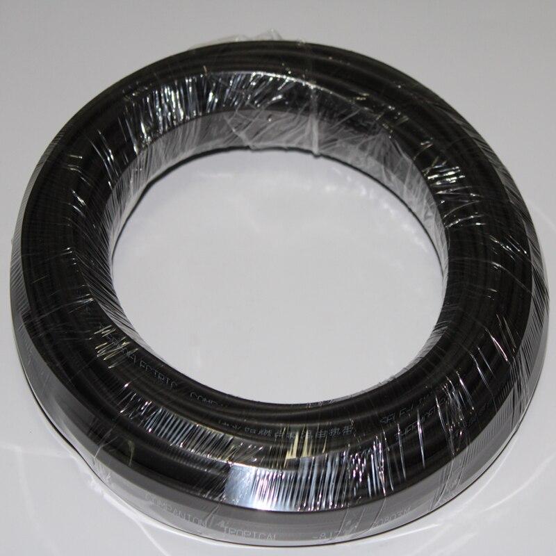 20 м Фрост нагревательный кабель для защиты от замерзания водопровод/крыша 220 В 8 мм 20 Вт/м саморегулирующийся Электрический нагреватель медный провод