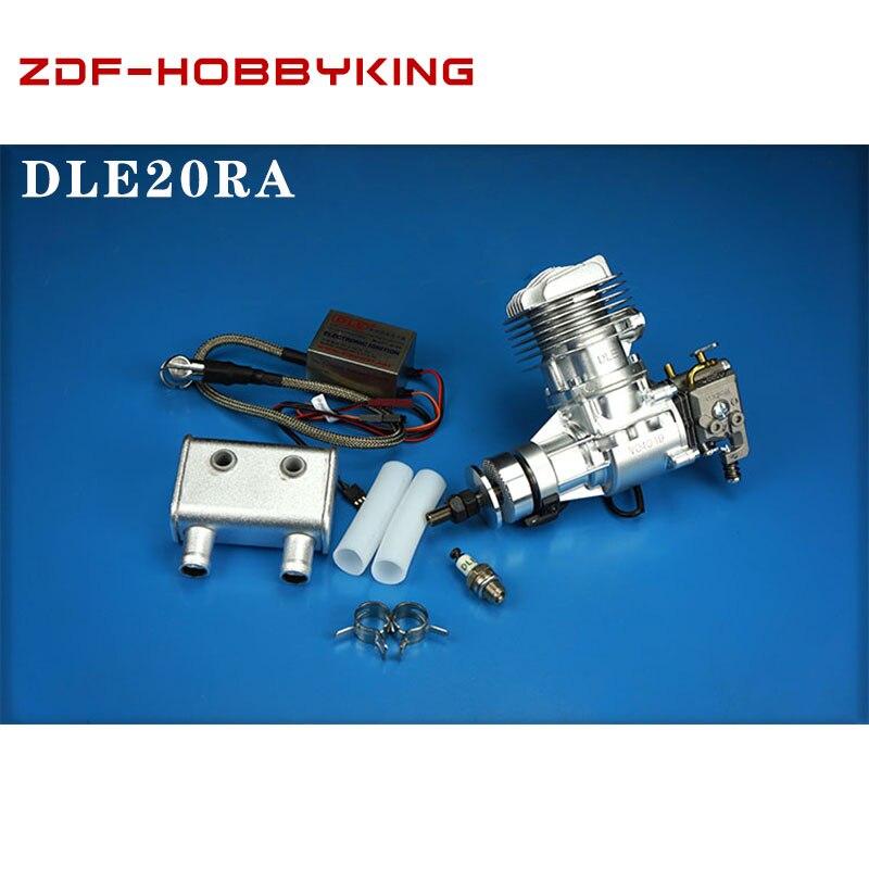 DLE Оригинальный Новый DLE 20CC DLE20RA DLE 20RA бензиновый двигатель для радиоуправляемой модели