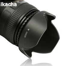 ¡Oferta! 52 55 58 62 67 72 77mm lente capucha pétalo Reversible flor DSIR para Canon Nikon Sony Pentax cámara Universal