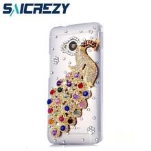 Luxe strass cristal étui de téléphone portable coque de protection pour htc Desire 626/826/M9 526G + 526 U Play u11 life E9 Plus téléphone
