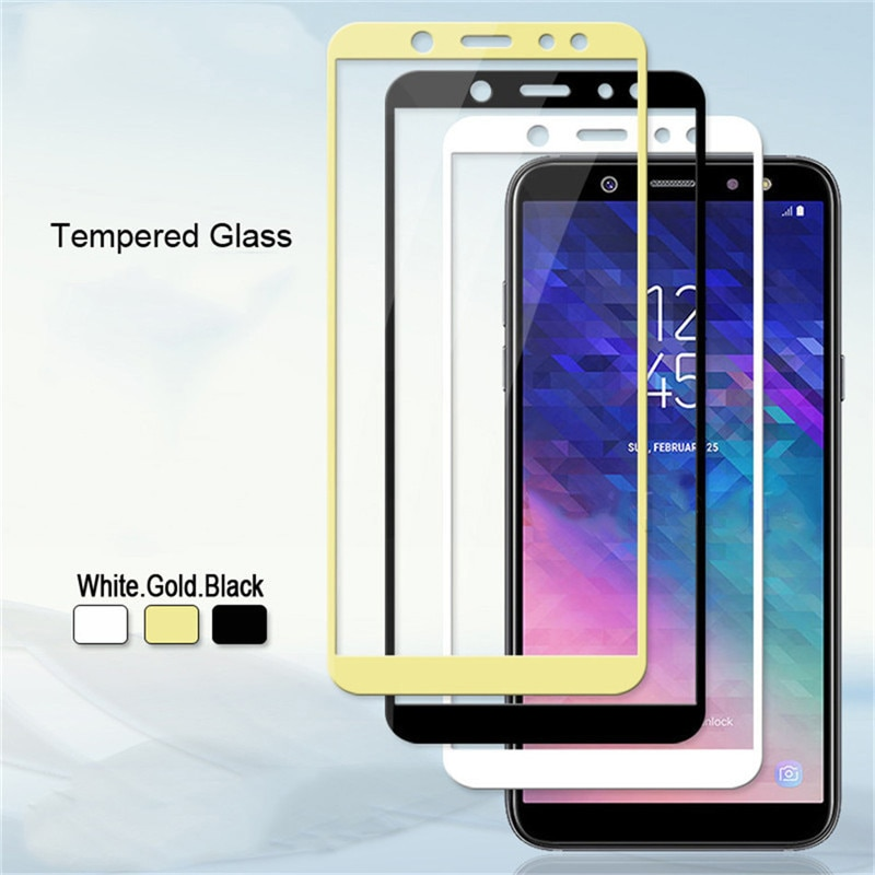 9H Full Tempered Glass For Samsung Galaxy J1 J2 J3 J5 J7 A3 A5 A7 2016 Prime S7 C9 Pro Screen Protec