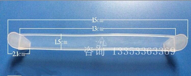 15*1.5 سنتيمتر البلاستيك السميك أسفل مشبك الكرتون مقبض طوقا قطعة الإضافية إنتاج المهنية بالجملة