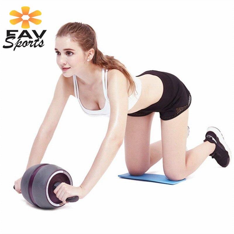 Фитнес абдоминальное колесо AB ролик rolo abdomina для мужчин и женщин Бодибилдинг