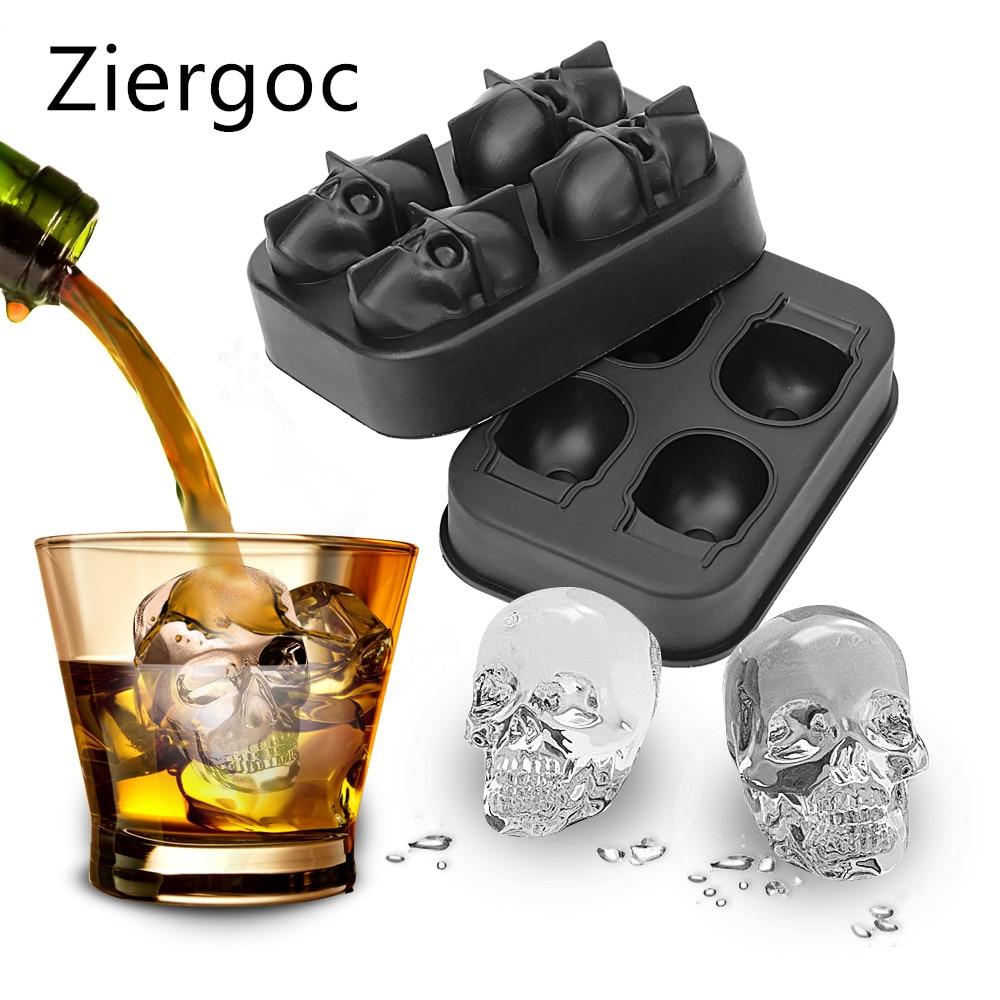 AI DI silicona Taro cubo de hielo molde de chocolate, hielo crema herramientas de bricolaje whisky de cubo de hielo 3D molde de silicona