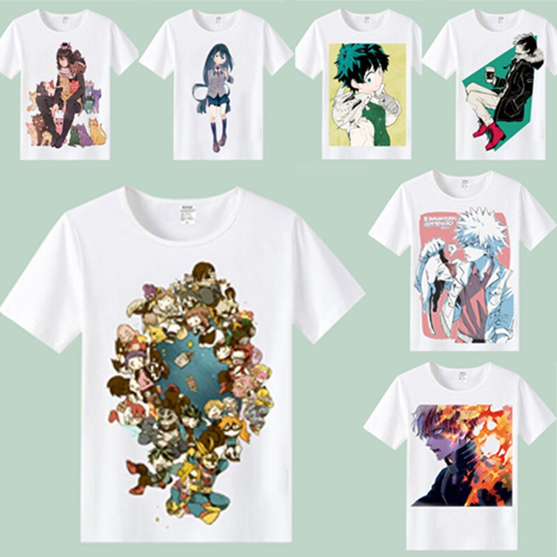 CostumeBuy Anime My Hero Academia Boku No Hero Academia camiseta My Hero Academia camiseta Izuku midoriya para hombre/mujer