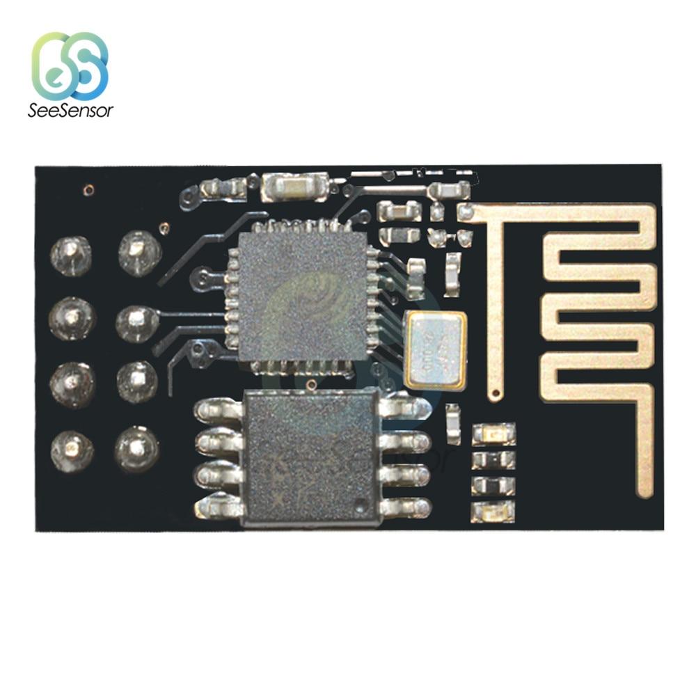 ESP8266 ESP01 ESP-01 Placa 3 Wi-fi Série Módulo Transceptor Sem Fio V 3.6V UART I2C I2S PWM Controle Remoto PARA ARDUINO