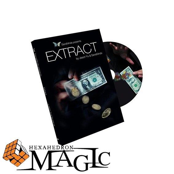 הגעה משלוח החדש חינם תמצית (עם גימיק) על ידי ג ייסון יו SansMinds קסם כרטיס תקריב מוצרים/סיטונאי