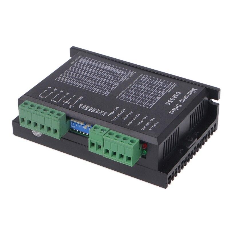 Controlador de Motor paso a paso Digital de 2 fases DM556 42/57/86 controlador de Motor paso a paso para CNC