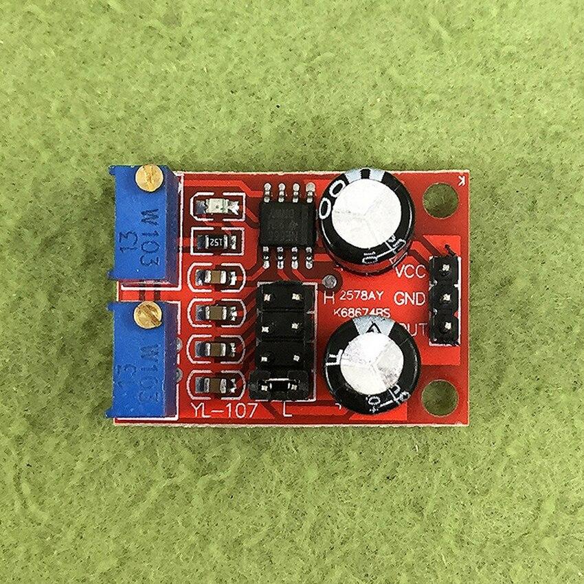 Módulo ajustable de ciclo de trabajo de frecuencia de pulso NE555 para generador de señal de onda Rectangular cuadrada controlador de Motor paso a paso
