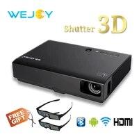 Wejoy 3D Laser projecteur LED DL-310 Android Full HD 1080P Video Pour Home Cinema DLP 4k tv