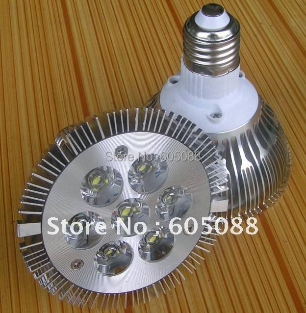 2015 New arrival ! Epistar 7w par30 led bulb lamp,e27,AC85-265v,700lm white color, CE&ROHS,10pcs/lot for indoor lighting !