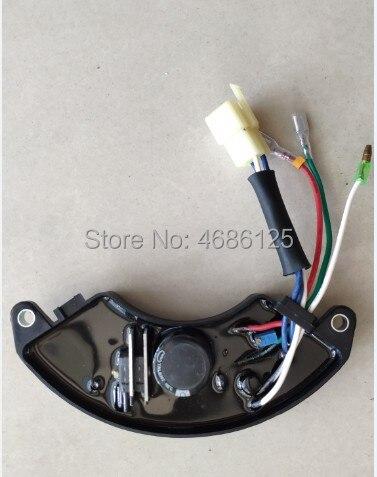 قطع غيار مولد كهربائي, EP5000 EP6500 AVR منظم 5kw