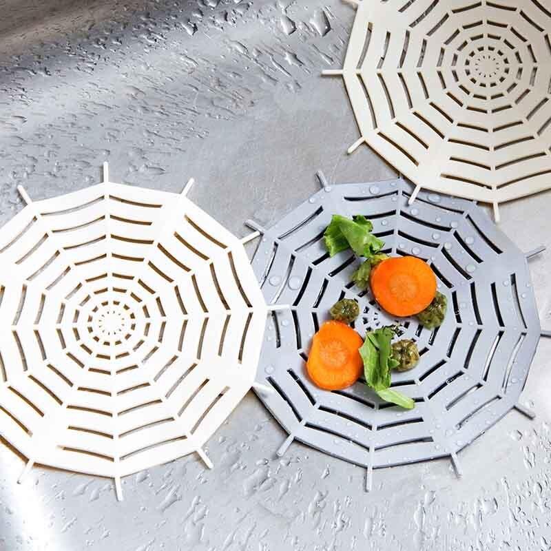 Creativo Protector de fregadero de Cocina ducha Filtro de pelo baño Cocina Gadgets Accesorios fregadero escurridor enchufe moderno