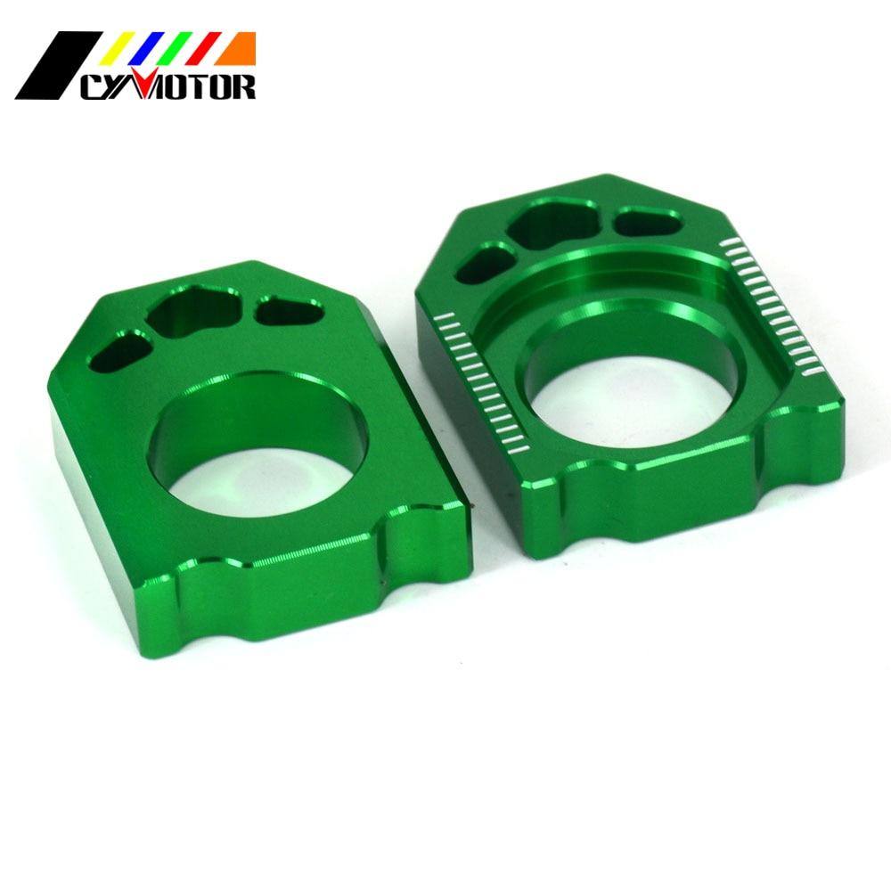 Мотоцикл CNC задний регулятор блок цепи для KAWASAKI KZ125 KZ 125 KZ250 03-08 KX250F 04-16 KX450F 06-16 KX 250 450 F KLX450R
