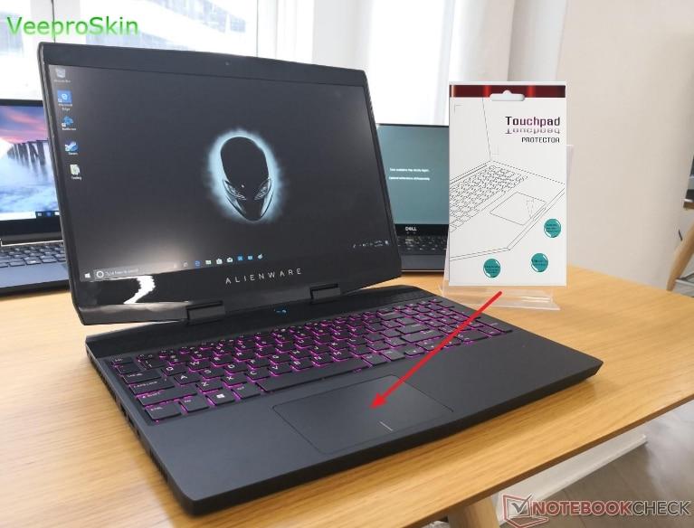 Etiqueta de protección de película mate Touchpad para Alienware m15 (2018) 15 15,6 pulgadas Gaming Laptop TOUCH PAD 2018