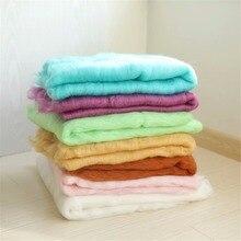 60*90cm Merino Wool Felted Blanket Wrap Wool Layer Roving Fluff Baby Photography Prop Wool Basket Filler