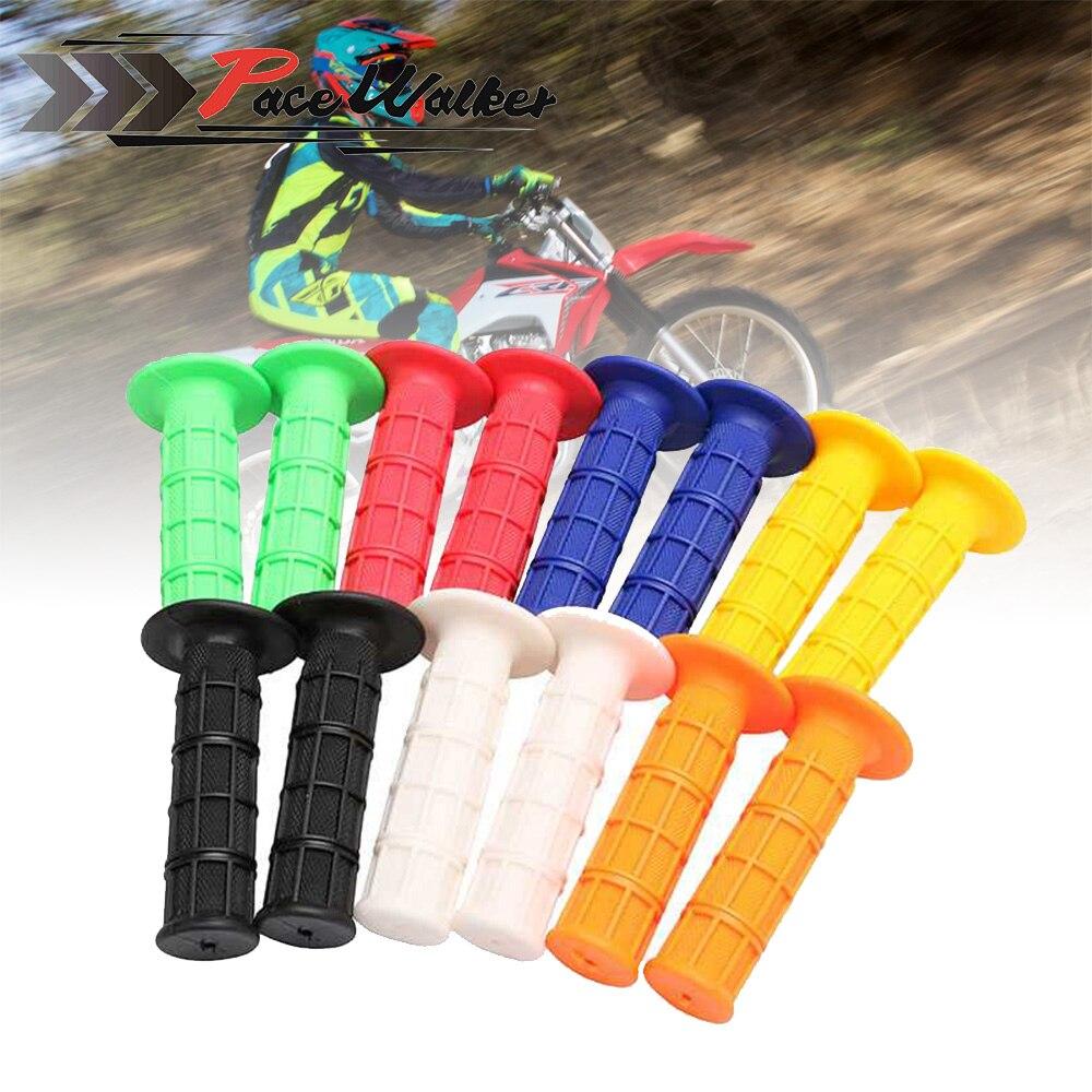 """7 color Todo manillares de 7/8 """"de Motocicleta Apretones de Manillar De Goma Gel Para CRF YZF WRF KXF KLX KTM RMZ Pit Dirt Bike Motocross"""