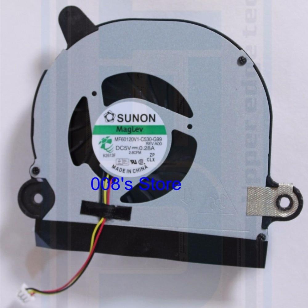 Новый охлаждающий вентилятор для ноутбука DELL Inspiron 15R 5520 5525 7520 VOSTRO 3560 от SUNON MF60120V1-C530-G99 0Y5HVW DC28000AYS0