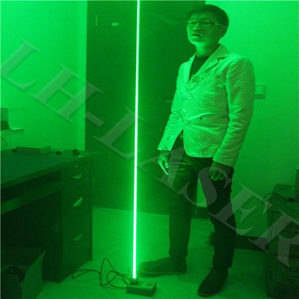 Láser personalizado de 532 nm, 100 mw de haz grueso, láser de base, Láser de pie, láser doble, sword laser show de personas