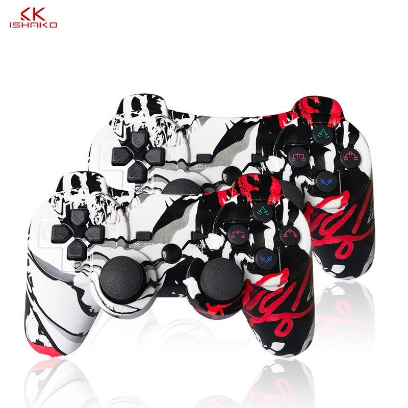 K ISHAKO, controlador para ps3, PC, controlador de juego inalámbrico, SIXAXIS Gamepad para sony playstation3, doble Shock Gamepad, joystick