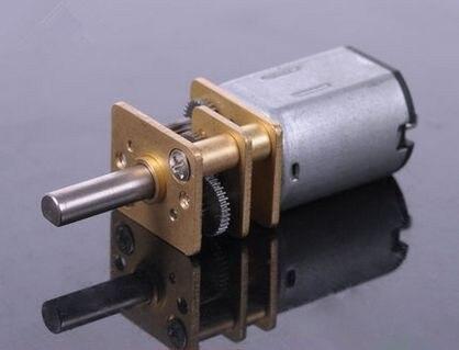 N20 DC12V 100RPM equipo de Motor de alto par Motor caja de cambios eléctrica Motor envío gratis