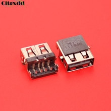 Cltgxdd connecteur de prise 5 ~ 30 pièces   Pour Lenovo G570 G570AH E320 Samsung 3 NP300E5C HP 1000 G6 G7-2.0 G62, USB jack