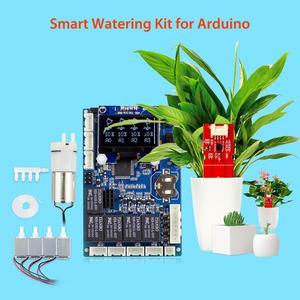Elecrow Automatic Smart Plant Watering Kit for Arduino Garden DIY Program Flower Water Device Capacitive Soil Moisture Sensor